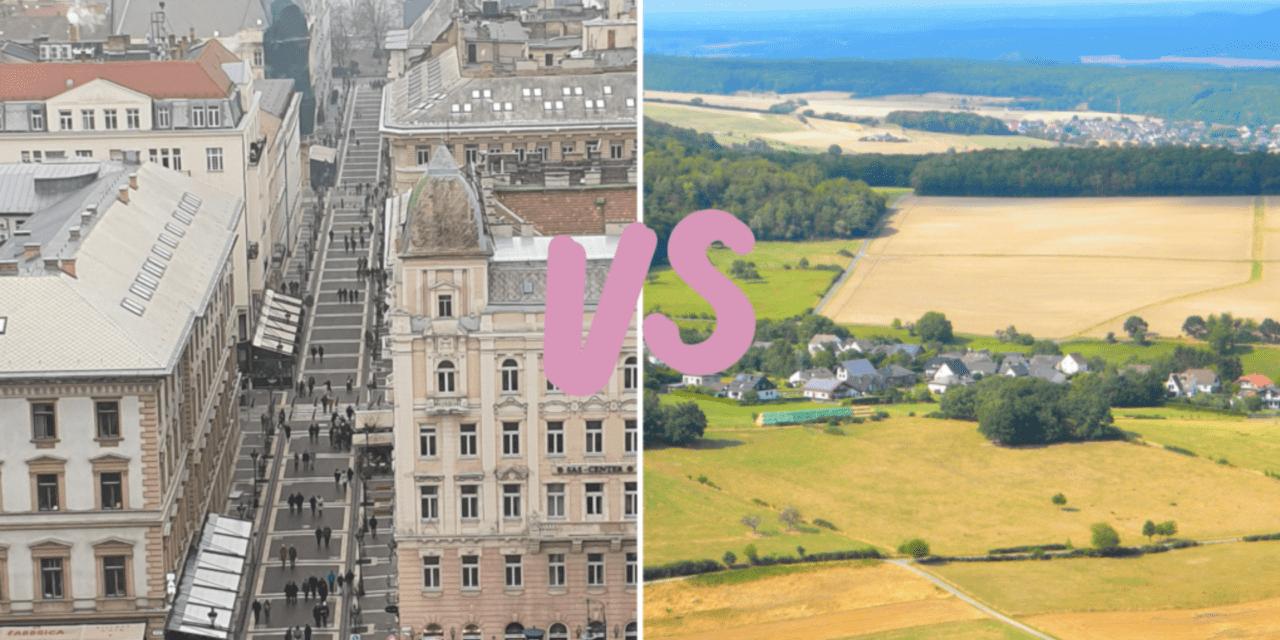 Opgroeien, platteland of stad | Dit zijn de verschillen