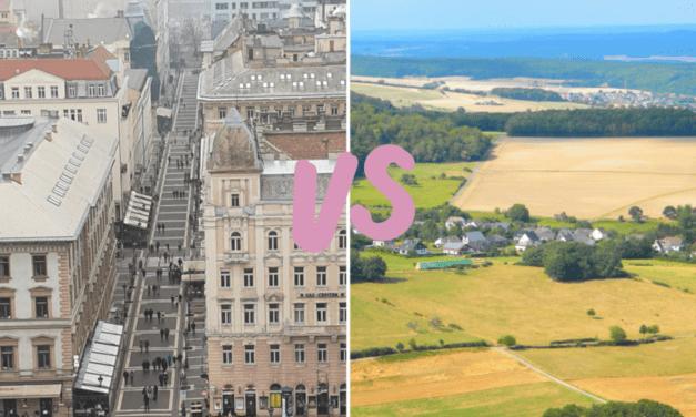 Opgroeien, platteland of stad   Dit zijn de verschillen